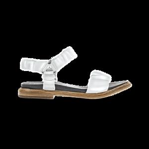 Sandalia blanca eco piel 1