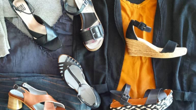 Las sandalias para ir cómoda y estilosa a la oficina